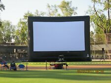 45' Inflated Professional Movie Screen -Usa made- Custom - 50% off Original Cost
