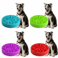 Pet Dog Interactive Maze Slow Food Bowl Healthy Anti Slip Gulp Bloat Dish Feeder