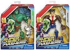 MARVEL MASHERS SKAAR WOLVERINE UNMASKED LOGAN SUPER HERO MASH UP X-MEN HTF 2015