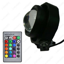 10W Outdoor RGB LED Spot Light Flood Lamp Motorcycle Boat Waterproof 12V Garden