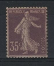 "FRANCE STAMP TIMBRE N° 136 "" SEMEUSE 35c VIOLET CLAIR 1906 "" NEUF xx TTB  R941"