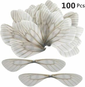 100pcs Dragonfly Wing Charms DIY for Flying Keys Skeleton Keys Earrings Pendant