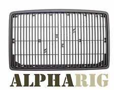 1996-2003 ALL BLACK VOLVO VN Front Grille NEW W/O BUG SCREEN