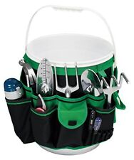 Garden Plant Tool Set Gardening Tools Organizer Tote Kit Lawn Yard Bag Bucket