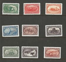 US. SCOTT ## 285-293. 1898  Trans-Miss EXPOSITION ISSUES. MNH.EXCELLENT FORGERY.