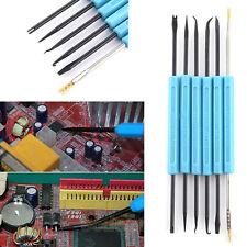 6pcs Soldering Kit Aid Assist Set Repair Tool Desoldering Iron Station Accessory