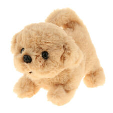 Lifelike Golden Retriever Robot Toy Dog Electronic Dog Toy Plush Kids Gift