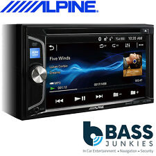 "Alpine IVE-W560BT 6.2"" Double Din Bluetooth USB DVD CD MP3 USB Car Stereo Player"