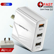 """For Apple iPad Pro 10.5"""" 11"""" 12.9"""" Fast Charging QC3.0 Wall Plug Charger Adapter"""