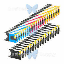 40+ PACK LC71 LC75 NON-OEM Ink for BROTHER MFC-J430W LC-71 LC-75 LC71 LC75 LC79