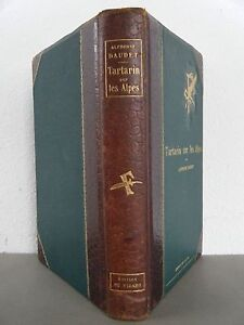 1885, TARTARIN DANS LES ALPES - E O illustrée Alphonse DAUDET