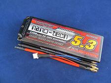 Turnigy nano-tech 5300mah 2S 7.4 50C 100C Lipo Battery Pack Hardcase slash blitz