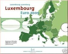 BU Luxemburg 2009  * * * coffret BU Luxembourg 2009 !!!