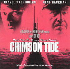 CRIMSON TIDE Soundtrack Score CD by Hans Zimmer  *FAST SHIP*  *VERY GOOD COND*