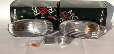MG Rover F MGF Clear White Front Indicator Light Lamp Conversion Upgrade Kit