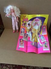 Vintage 1985 Hasbro Jem Doll with Poster