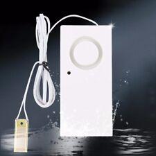 Water Leak Alarm Flood Level Overflow Detector Sensor Alert for Home Security !
