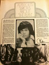 Alan Osmond, Osmonds Brothers, Marie, Double Full Page Vintage Clipping