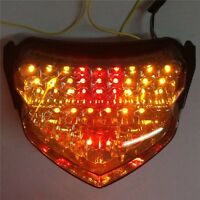 F Brake Tail lights Fit For GSX-R GSXR 600 750 2004-2005 Smoke LED