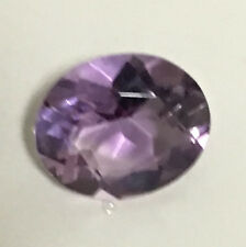 14x10mm OVAL-FACET DEEP-PURPLE NATURAL AFRICAN AMETHYST GEMSTONE   Q-14