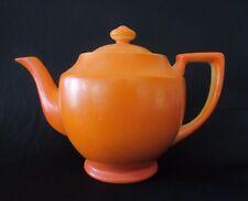 ORANGE Ceramic Vintage Tea Pot ~ Japan ~ Great 4 Halloween Prop Decor! ~ Nice!