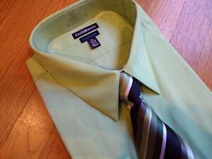 NWT, $50. MSRP,  Men's Croft & Barrow Classic Fit Long Sleeve Dress Shirt w/ Tie