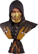 MORTAL KOMBAT X - Scorpion 1:1 Scale Life-Size Bust (Pop Culture Shock) #NEW
