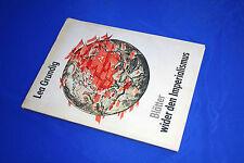 LEA GRUNDIG Blätter wider den Imperialismus WWII HOLOCAUST Judaica ART BOOK 1975