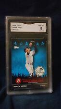 2009 TOPPS#TTT29 JETER JETER TOPPSTOWN,COM CARD GRADED 8 NM-MT