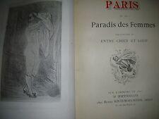 Rops Félicien Paris ou le paradis des femmes relié