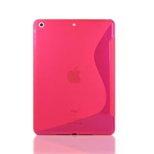 X-Line S-Line Gel Case Cover For Apple iPad Mini 1 2 3 + Screen Protector