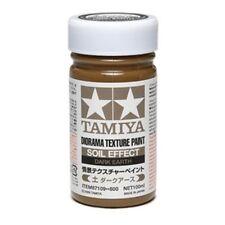 Tamiya 87109 Diorama Texture Paint 100ml Soil Effect:Dark Earth