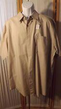 M5   Men's 2X Cherokee Tan Short Sleeves Shirt