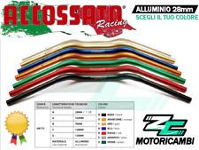 MANUBRIO MOTO A SEZIONE VARIABILE 28mm / 22mm ALLUMINIO ACCOSSATO RACING
