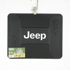 Mopar Chrysler Jeep Logo US Car Gummi Fußmatte Utility Floor Mat Auto Matte NEU