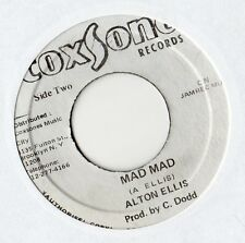 "Alton Ellis - Mad Mad 7"" Single / Mad Version"