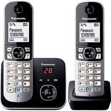 Panasonic KX-TG6822 1,88 / 1,90 GHz Einzelleitung Schnurloses Telefon Silber