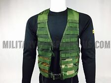 New Woodland Camo FLC Tactical Molle II Vest Fighting Load Carrier Harness Rack