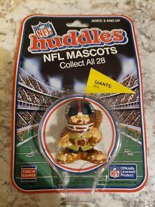 NFL New York Giants (2 in.)  1983 Vintage Huddles PVC Figure Mascot