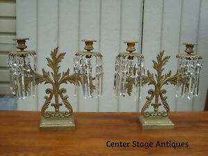 Vintage Candle Holder Candlestick Metal 15x4cm Oxeye Daisy Candle Holder with skewer