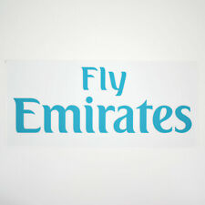 2017-18 Real Madrid Fly Emirates Home Sponsor Patch for Shirt Jersey