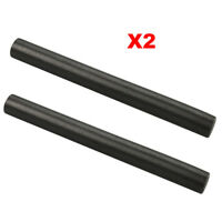 2pcs Huge 1/2 x5 Ferrocerium Rod Flint Fire Starter Magnesium Kits Outdoor Black