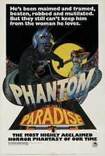 PHANTOM OF THE PARADISE Movie POSTER 27x40 C Paul Williams William Finley