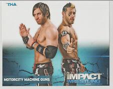 Motorcity Machine Guns Officially Licensed TNA Wrestling Promo Photo