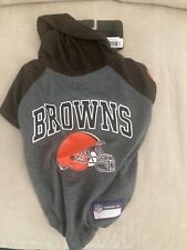 NEW with Tag NFL Cleveland Browns Football Team Hoodie Pet Wear Dogs Size Medium