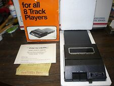 Vintage Realistic Stereo Cassette Adapter BOX,MANUAL