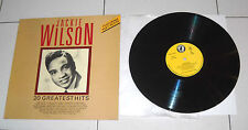 "Lp 33 giri JACKIE WILSON 20 Greatest Hits 12"" disco 1988 feat Reet Petite"