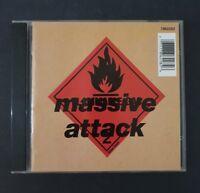 MASSIVE ATTACK- 'Blue Lines' CD Album 1994