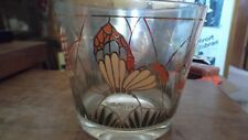 Vintage Culver Garden/Butterfly Ice Bucket MCM