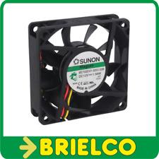 VENTILADOR TERMOPLASTICO 12VDC 1.56W 70X70X20MM 3200 ROTAC/MIN 3 CABLES BD11382